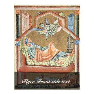 O sonho de Joseph por DES Perikopenbuches de Meist Panfletos Personalizado
