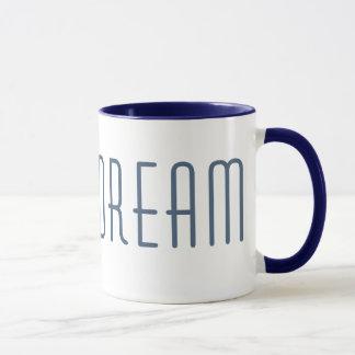 O SONHO inspirou a caneca de café