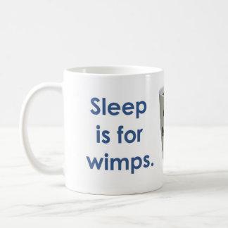 O sono é para Wimps - café Caneca De Café