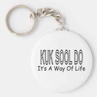 O sool de Kuk fá-lo é um modo de vida Chaveiros