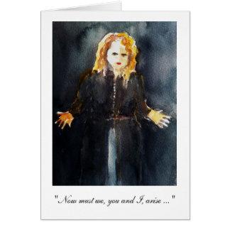 O soprano Christine Goerke canta o cartão de
