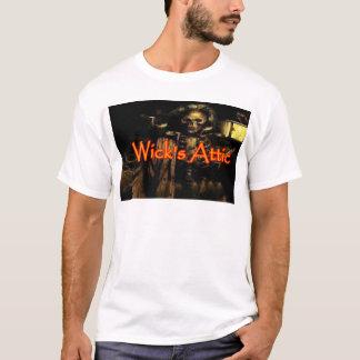 O sótão do feltro de lubrificação camiseta
