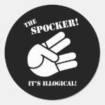 O Spocker! Adesivo Em Formato Redondo