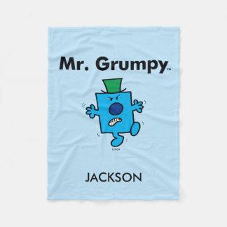 O Sr. Mal-humorado do Sr. Homem | é um Grump Cobertor De Velo