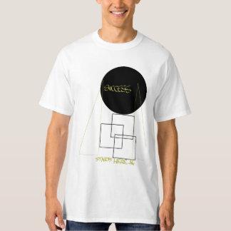 O sucesso começa aqui camiseta