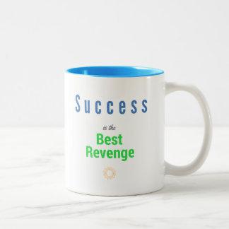O sucesso é a melhor vingança - caneca de café