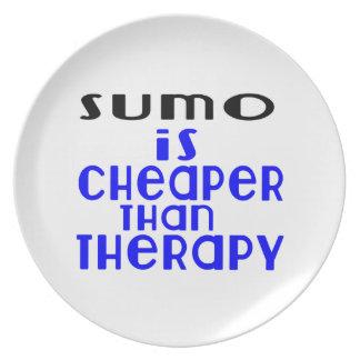 O Sumo é mais barato do que a terapia Prato De Festa