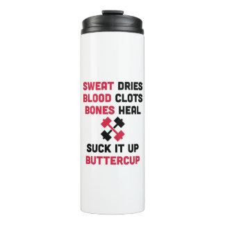 O suor seca citações do Gym
