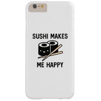 O sushi faz-me feliz capas iPhone 6 plus barely there