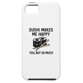 O sushi faz-me feliz capas para iPhone 5