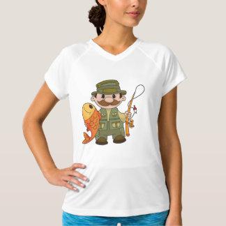 O T ativo das mulheres do pescador Camiseta