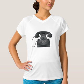 O T ativo das mulheres pretas idosas do telefone Camiseta