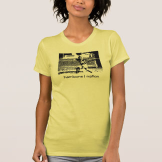 O T das mulheres do coletor da nação de Hambone Camiseta