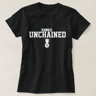 O T das mulheres soltadas preto Tshirt