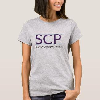 O T das senhoras do logotipo de SCP Camiseta