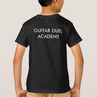 O T do miúdo da academia do duelo da guitarra Camiseta