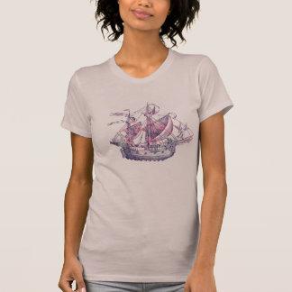 O T do navio de pirata Camiseta