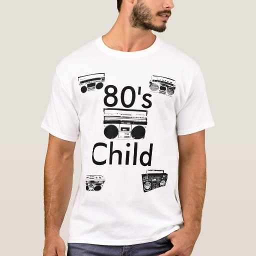 o T dos homens da criança do anos 80 Camiseta
