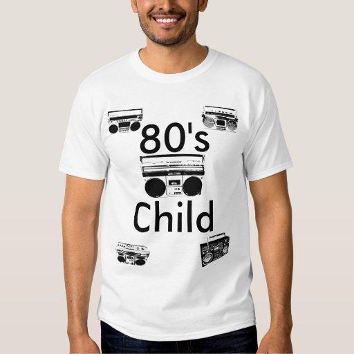o T dos homens da criança do anos 80 Tshirt