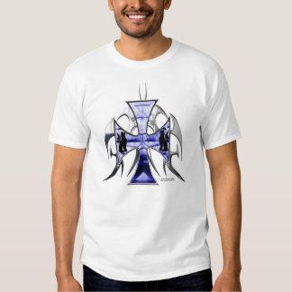 O T dos homens da cruz do ferro de Griffon Camisetas