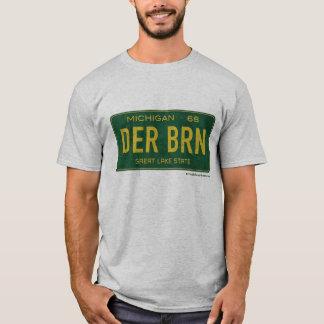 O T dos homens da placa de Dearborn 1968 Camiseta