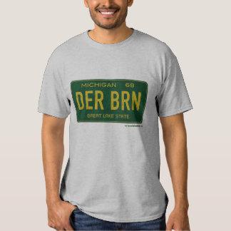 O T dos homens da placa de Dearborn 1968 Camisetas