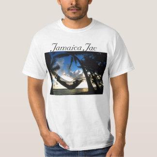 O T dos homens de Jamaica Jac Camiseta