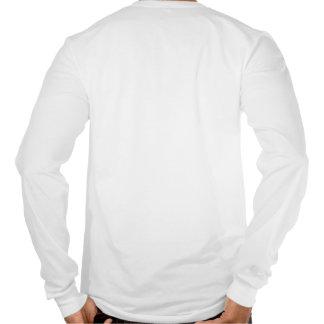 O T Longo-Sleeved dos homens do sistema de aliment Tshirts