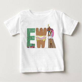 O T   NEWARK do bebê, NJ (EWR) Camiseta Para Bebê