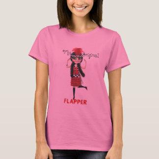 O T original dos anos 20 rujir do Flapper Camiseta