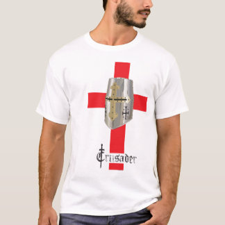 O T padrão dos homens do cruzado Camiseta