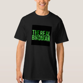 O T preto real de Birdman Camisetas