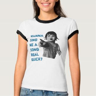 O t rodeado Ava das mulheres Camiseta