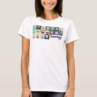 O t-shirt básico das mulheres Hypnotized dos