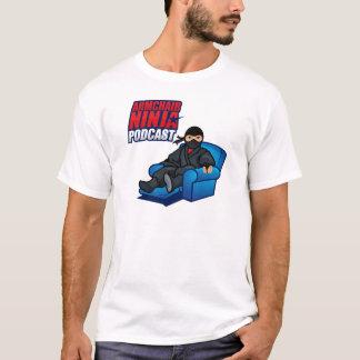 O t-shirt básico dos homens do Podcast de Ninja da Camiseta