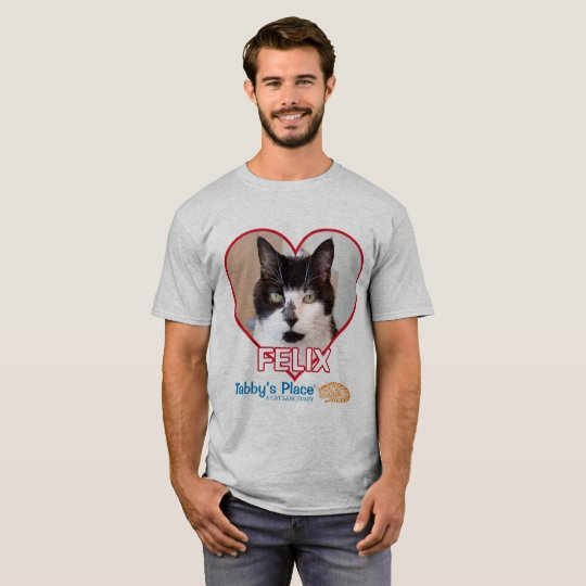 O t-shirt básico dos homens - Felix Camiseta
