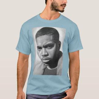 O t-shirt básico dos homens, para o hip-hop real camiseta
