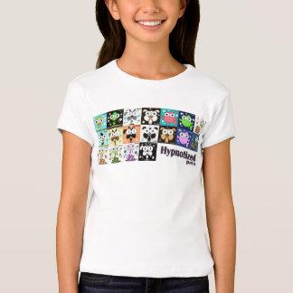 O t-shirt cabido Bella das meninas Hypnotized dos