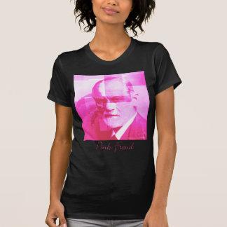 O t-shirt cor-de-rosa original de Freud_Black