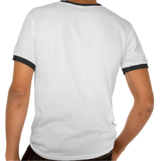 O t-shirt da campainha do logotipo do B-Molde