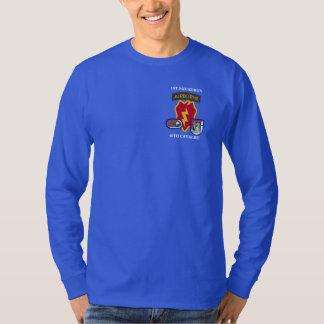 ø T-SHIRT da CAVALARIA L/S do ESQUADRÃO 40TH Camiseta