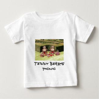 O t-shirt da criança do piquenique dos ursos de