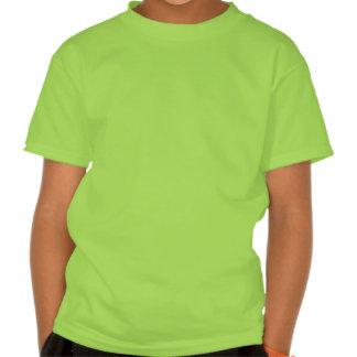 O t-shirt da menina da atitude de cocker spaniel