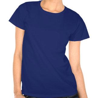 O t-shirt da mulher dos ursos e dos corações de ur