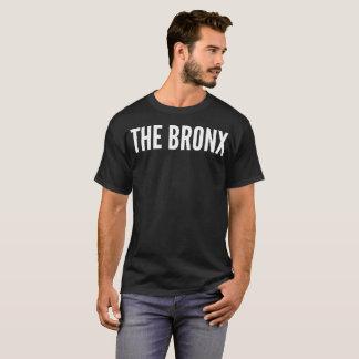 O t-shirt da tipografia de Bronx Camiseta