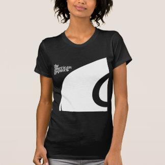 O t-shirt das mulheres americanas dos ciganos
