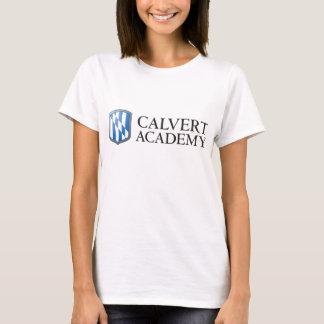 O t-shirt das mulheres da academia de Calvert Camiseta