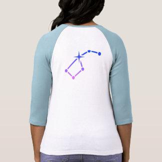 O t-shirt das mulheres da caminhada da estrela