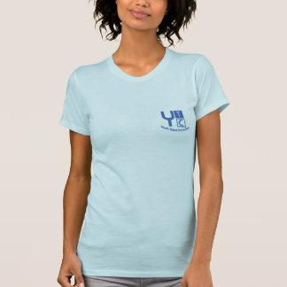 O t-shirt das mulheres da conexão do talento da