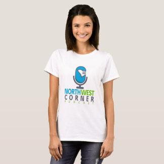 O t-shirt das mulheres de canto noroestes do camiseta